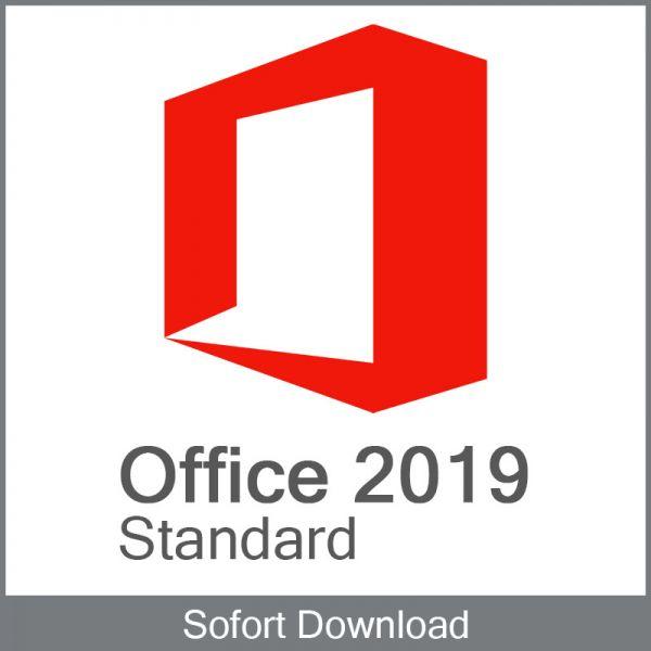 Office Standard 2019 Aktivierungschlüssel