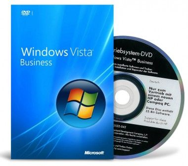 Windows Vista Business 32 Bit