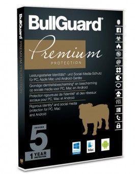 BullGuard Premium Protection 2019 - 5 Geräte / 1 Jahr