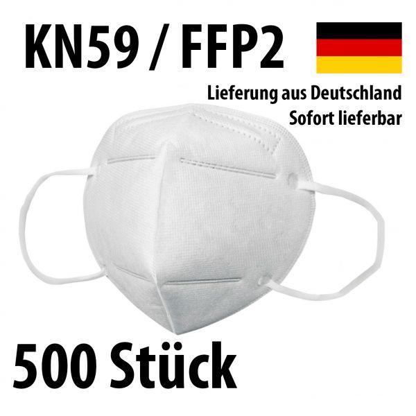 Atemschutzmasken KN95 / FFP2 - Schutzmasken Mundschutz - 500 Stück